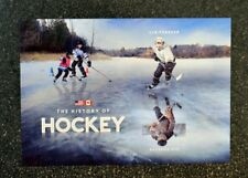 2017USA #5253c Forever - The History of Hockey - Souvenir Sheet of 2  Mint