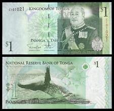 Tonga  1 Pa'anga ND 2009  Pick 37(2)  SC = UNC
