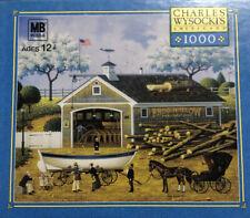 """Milton Bradley Charles Wysocki """"Dahlia Dinalhaven"""" 1000 Piece Puzzle"""