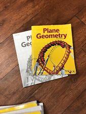 A Beka Plane Geometry Lot