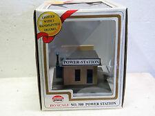 MODEL POWER #580 HO built up LIT POWER STATION New in box
