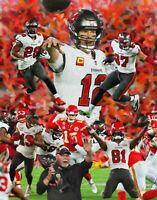 Tampa Bay Buccaneers Super Bowl Champions Tom Brady Bucs NFL Football 8x10-48x36