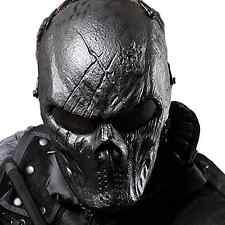 Full Face Tactical Airsoft Mask Skull Eye Protection Cs War Game Painball Huntin