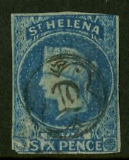 St Helena   1856   Scott # 1   USED - Faults