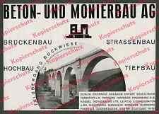 Bemo Düsseldorf Brückenbau Kran Reichsbahn Viadukt Bockwiese Kaiserlautern 1935!
