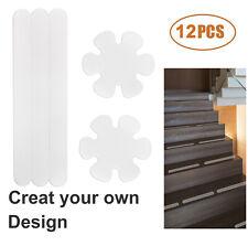 12 Pcs Anti Slip Grip Strips Non-Slip Safety Flooring Bath Tub Shower Stickers