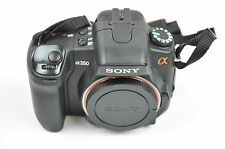 Sony Alpha DSLR-A350 14.2MP DIGITAL CAMERA small dark spot on backlight B044