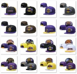 Classic Embroidered NBA Flat Brim Hip Hop Cap Snap-back Sports Hat For Unisex