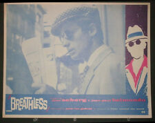 BREATHLESS - JEAN PAUL BELMONDO ORIGINAL 1960 US RELEASE!