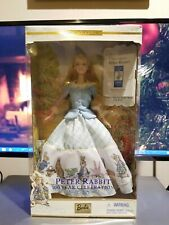 Nib Peter Rabbit 100 Year Celebration Barbie Collector Edition, Nrfb