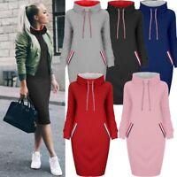 Women Sweatshirt Long Sleeve Pullover Jumper Sweater Tops Winter Dress Tops US
