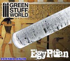 Rolling Pin - Egyptian Texture - Roller with hieroglyphs - Egypt khemri bases.