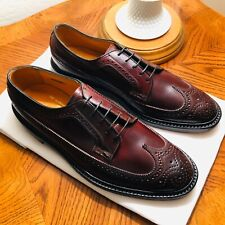 NEW With BOX | Florsheim Imperial 93605 #4 Shell Cordovan Wingtip (Size 9.5D)