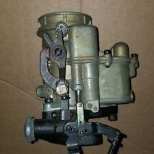 HOLLEY 94  2100 Flathead Carburetor -Remanufactured - Hardware/Linkages - MINT
