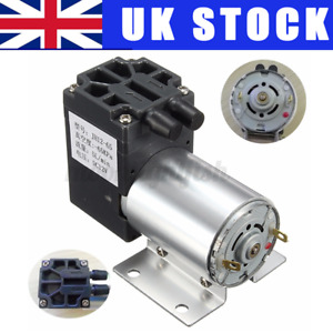 Mini DC 12V Vacuum Pump Negative Pressure Suction Pumps 5L/min 65-120kpa U