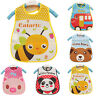 Baby Boy Girl Kids Bibs Waterproof Saliva Towel Cartoon Bib Feeding Bandana CARE