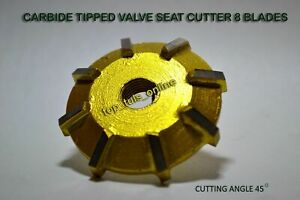 VALVE SEAT CUTTER CARBIDE TIPPED ALL SIZES & ANGELS CHOOSE YOUR OWN