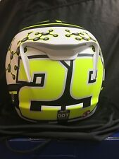 HJC RPHA 11PRO IANNONE 29 REPLICA MOTOGP MOTORCYCLE HELMET MEDIUM FREE DK SHIELD