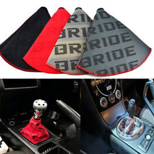 JDM Bride Racing Canvas shift knob Shifter Boot Cover Universal fits MT/AT