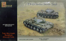 Pegasus Hobbies 1/72 KV-1S  (2 tanks per kit)