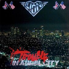 LION Trouble In Angel City CD Remaster + Bonus Tracks NEW & SEALED 2020