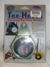 Oxford Tax-Haven - Motorcycle Tax Disc Holder  Green Clearance BC25452 - T
