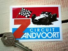 ZANDVOORT CIRCUIT classic car or motorcycle stickers