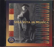 BRUNO LAUZI - Una vita in musica - Dal vivo 1995 - CD 1996 NEAR MINT CONDITION