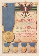 Z171) Tortona, Alexandria, 30 Infantry Pisa. Illustrator paschetto.