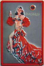 Bacardi Cuban Dancer embossed steel sign  300mm x 200mm  (hi)