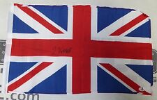 Linton Vassell Signed 12x18 UK Flag BAS Beckett COA Bellator 165 MMA Autograph