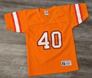 VINTAGE LOGO 7 TAMPA BAY BUCCANEERS #40 Youth Medium jersey