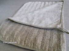 Linen Flax FACE TOWEL TERRY Washcloth Mat Natural Antimicrobial