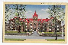 Vintage Postcard Rochester NY St. Bernard's Seminary Linen Curteich