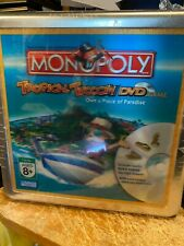 Tropical Tycoon DVD Monopoly Game ------New Sealed Tin Game