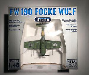 NIB Franklin Mint Armour Collection 1/48 metal Fw 190 Focke Wulf