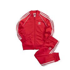 Vêtements de sport rouge adidas pour garçon de 2 à 16 ans | eBay