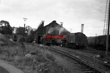 PHOTO  BASINGSTOKE LOCO SHED IN THE 1960'S