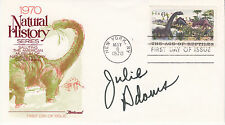 JULIE ADAMS (1926- ) hand signed 1970 FDC first day cover autographed