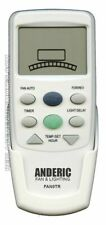 NEW ANDERIC Ceiling Fan Remote Control FAN9T/REV Thermostatic without Dimming...
