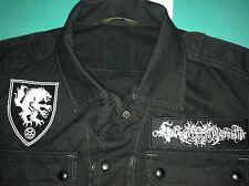 Satanic Warmaster Black Metal Ejército Camisa Horna Beherit Behexen Archgoat Sargeist