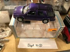 Z Wheels GMC Jimmy Purple 1:24 Scale Diecast Collectible Model Pickup Truck