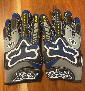 Vintage 1996 Fox Racing Pawtector Motocross Gloves 8 - mcgrath shift axo
