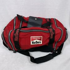 Vintage Marlboro Unlimited Duffel Bag Only Red Black Great Condition