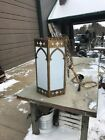 Lt 2 Available Price Each Gothic Hanging Church Light 26 x 14 1/2 6 foot