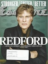 APRIL 2013 ESQUIRE MAGAZINE ROBERT REDFORD THE NATURAL JEREMIAH JOHNSON STING