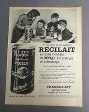PUB PUBLICITE ANCIENNE ADVERT CLIPPING 190817 / LAIT ECREME EN POUDRE REGILAIT