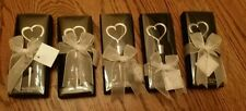 5 chrome heart bottle stoppers Bachelorette or bachelor party gifts