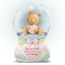 Baby You Are So Loved Teddy Bear Snow Globe / Water Globe Bradford Exchange