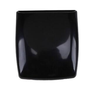 1pc Black Decorative Car Air Flow Intake Scoop Hood Cover Bonnet Vent Universal